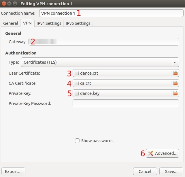 Ubuntu openvpn configuration2