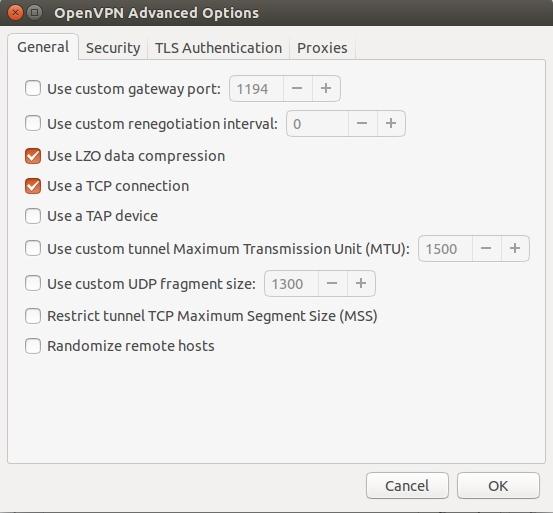 Ubuntu openvpn configuration3