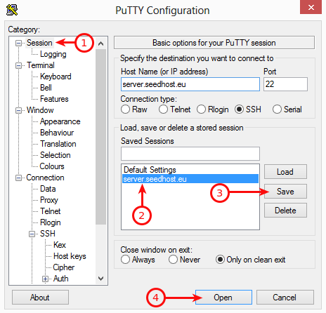 Plex putty configuration 3