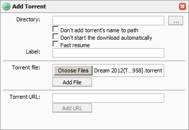 Add ad torrent menu icon3